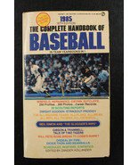 1985 The Complete Handbook of Baseball Paperback book 416 Pages - $30.69