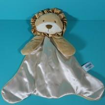 """Gund Baby Leo Lion Huggybuddy Plush Brown Cream Satin 17"""" Security Blank... - $44.95"""