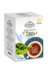Lions Tea Premium, Pure Ceylon Black Tea Loose Leaf, 200 g - $17.75