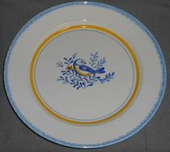 Metlox BLUEBIRD PATTERN Chop Plate or Round Platter MADE IN CALIFORNIA - $22.76