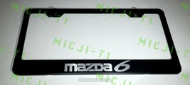 Mazda 6 Stainless Steel License Plate Frame Rust Free W/ Bolt Caps - $11.99