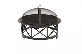 """30"""" PORTSMOUTH FIRE PIT BOWL STEEL BASE LIFT TOOL WOOD GRATE COVER - $108.89"""
