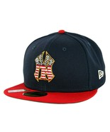 New Era New York Yankees 59Fifty Low Profile 4th of July Fitted Hat Size... - $37.39