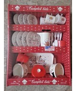 Vintage Chilton Toys The CAMPBELL KIDS dinner play set food Children Mad... - $98.99