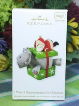 Hallmark I Want a Hippopotamus for Christmas 2012 ornament Musical - $39.75