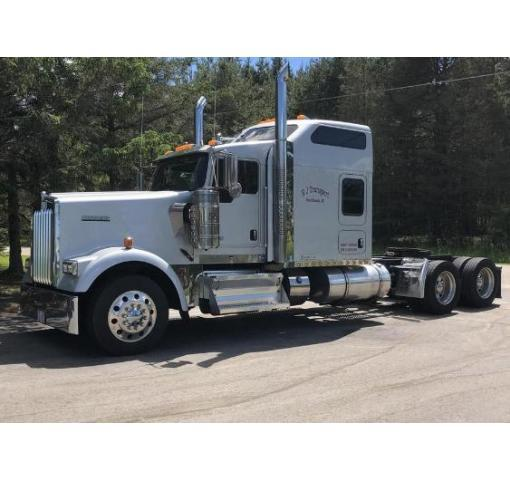 2013 KENWORTH W900L For Sale In West Branch, Michigan 48661