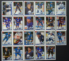 1991-92 Topps Buffalo Sabres Team Set of 23 Hockey Cards - $5.00