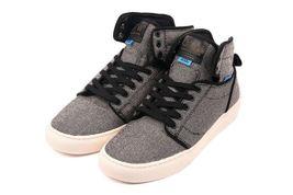 VANS Alomar (Wool Twill) Black Hi Top Men's Skate Shoes Size 11.5 image 3