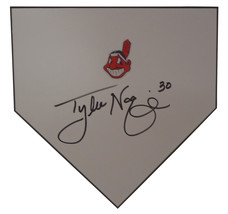 Cleveland Indians Tyler Naquin Signed Autographed Baseball Home Plate Ba... - $118.79