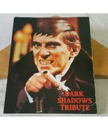 1990 DARK SHADOWS TRIBUTE Softcover Book-Barnabas Collins - $29.69