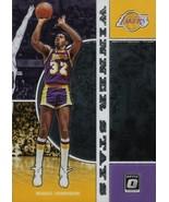 Magic Johnson Donruss Optic 19-20 #1 Winner Stays Los Angeles Lakers - $1.00