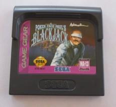 Poker Face Paul's Blackjack (Sega Game Gear, 1992) - $3.47