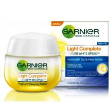 GARNIER LIGHT COMPLETE YOGHURT SLEEPING MASK (NIGHT) 50ml - $24.90