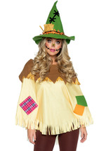 Scarecrow Poncho & Hat Costume by Leg Avenue™ - $47.45