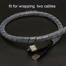 8mm Spiral Wire Wrap Tube to Manage Cables image 3