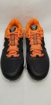 New Under Armour Men's Yard Low ST Baseball Cleats - Black/Orange FW5 - $49.99
