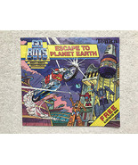 Gobots Escape to Planet Earth Illustrated Toy Booklet - Tonka 1984 - $14.52