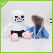 New Undertale Sans Plush Stuffed Doll 22'' Hugger Cushion Cosplay Doll G... - $11.39