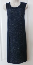 Apt. 9® Boucle Panel Sheath Sleeveless Sweaterdress  Navy XS or M NWT  M... - $21.12