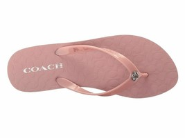 COACH ABBIGAIL RUBBER SANDALS / FLIP- FLOPS / PINK NEW in BOX - $30.08