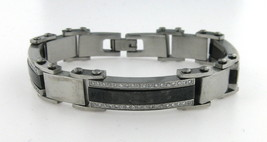 M's stainless steel Men's Stainless Steel Stainless Steel Bracelet - $49.00
