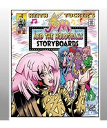 """Keith Tucker's Jem & the Holograms storyboards #02""  - $30.00"