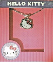 Hello Kitty Pendant Necklace with 16 in. Chain + 2 in. Extension - $11.97