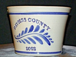 2002 Daviess County Westerwald Pottery Bowl with Pour Spout AA-191824 (1 Piece ) image 1