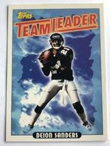 Deion Sanders 1993 Topps #171 Atlanta Falcons Team Leader HOF NFL Footba... - $0.99
