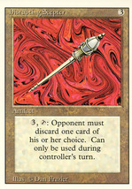 Magic: The Gathering 3rd Edition - Disrupting Scepter - $0.30