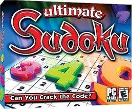 Ultimate Sudoku (Jewel Case) - PC [video game]