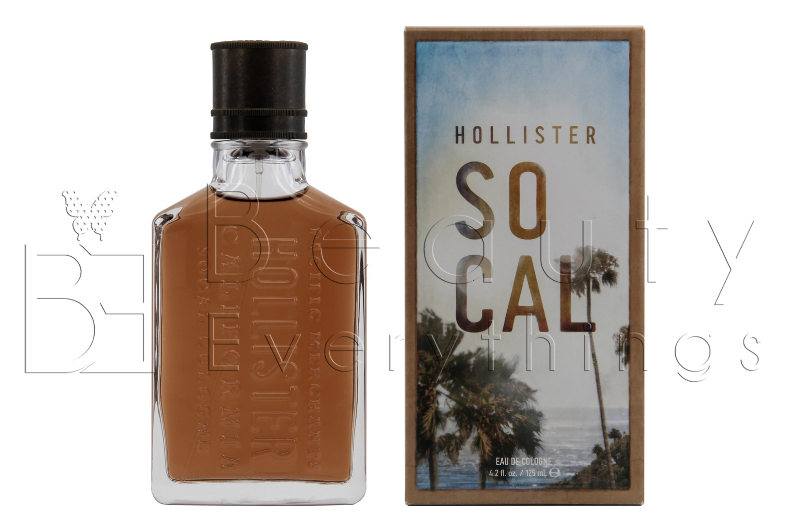 Primary image for Hollister So Cal 4.2oz / 125ml Eau De Cologne Spray NIB Sealed For Men