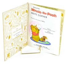 A Little Golden Book Walt Disney Winnie-the-Pooh Meets Gopher 101-42 1st Edition image 3