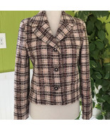 Artifacts The Collection Virgin Wool Jacket with Sparkling Crystal Buttons - $49.45
