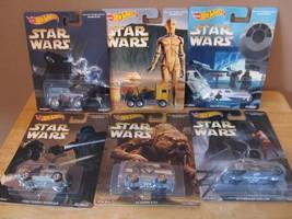 Star Wars Hot Wheels 2016 Pop Culture Series Set of 6~Brand New~Ralph Mc... - €29,88 EUR