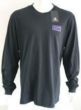 T Shirt Converse Cons Mens Graphic Tee Black 100% Cotton Size XL T-Shirt - $21.72