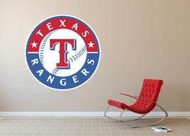 Texas Rangers MLB Baseball Team Wall Decal Decor For Home Laptop Sports - $104.45