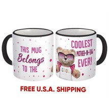 Coolest MOTHER-IN-LAW Ever Bear : Gift Mug Best Family Christmas Birthda... - £10.22 GBP+