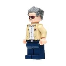 1 Pcs Super Heroes Figure Stan Lee Fit Lego Building Block Minifigures Toys - $6.99