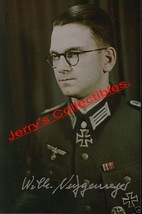 Wilhelm Niggemeyer signed photo - $40.00