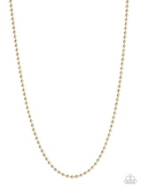 Cadet Casual Gold Urban Necklace - $5.00