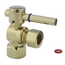 """Fauceture CC44402DL 1/2"""" IPS, 1/2"""" O.D. Compression Angle Valve, Polished Brass - $37.03"""