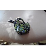 Vera Bradley Cambridge mini Miller keychain  - $22.00