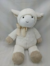 "Pottery Barn Kids White Rabbit Plush Bunny 16"" 2016 PBK Stuffed Animal Toy - $32.95"