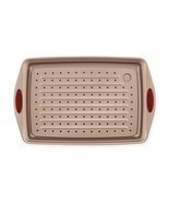 Rachael Ray Cucina Non-Stick 2-Piece Jelly Roll Crisper Pan Set in Brown... - $25.51 CAD