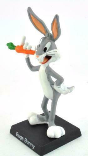 Extremely Rare! Looney Tunes Metal Figurine Small Statues Set 10 Pieces