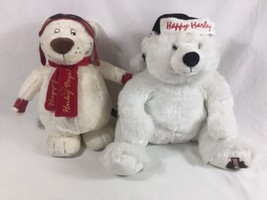 Happy Harley Days Bears Lot of 2 Harley Davidson Bears Plush/Stuffed - $39.59