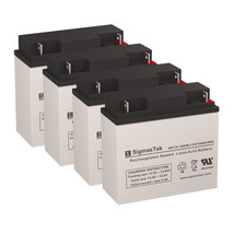 APC SU1400RMXL UPS Battery Set (Replacement) Batteries by SigmasTek - $128.69