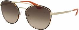Brand New Prada Sunglasses PR63TS 2AU3D0 55 Havana Gold/Brown For Women - $485.10
