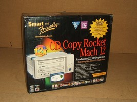 Smart & Friendly CD Copy Rocket Duplicator Stand Alone 12X Mach 12 - $131.81